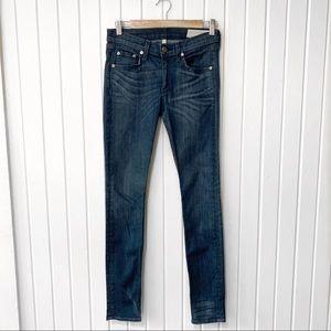 Rag & Bone Indigo May Skinny Jeans